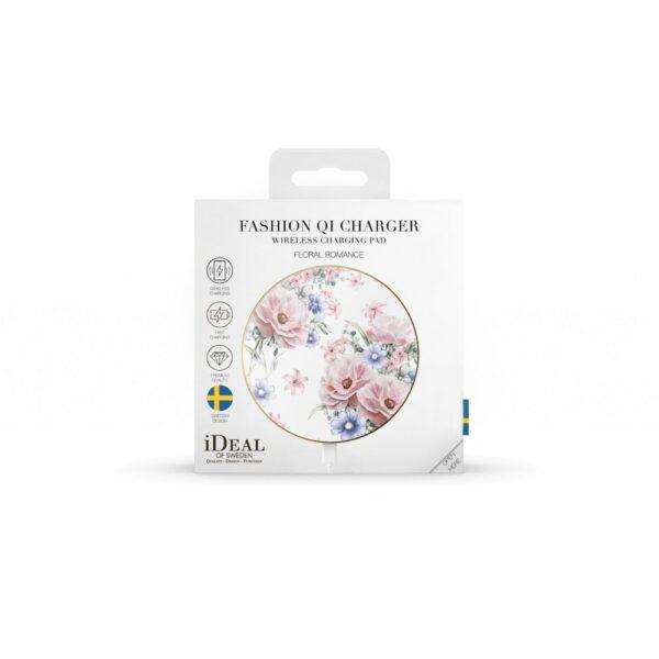 Bežični punjač - Wireless Charging Pad (Qi) - Floral Romance