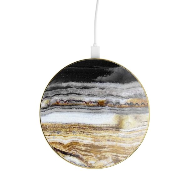 Bežični punjač - Wireless Charging Pad (Qi) - Outer Space Agate