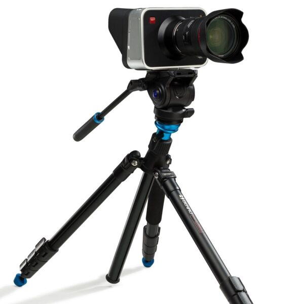 Benro Aero4 Video Tripod Kit Flip Lock with S4 head