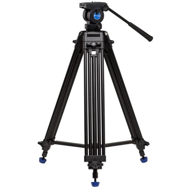 Benro Al Dual-Tube 3-sect tripod w/ K5 Video hd