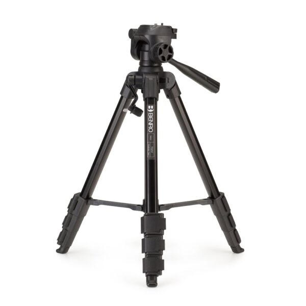 Benro Digital Tripod w/ Pan Hd 4 Sect