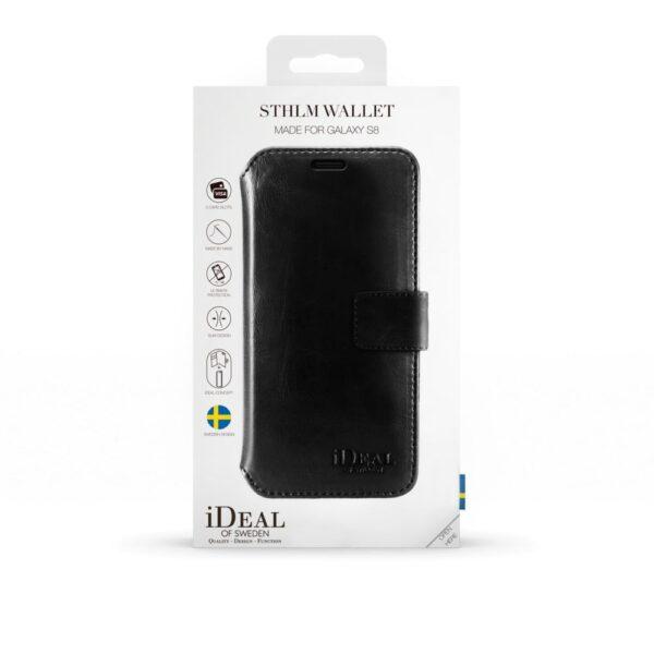Etui - Galaxy S8 - Black - Wallet
