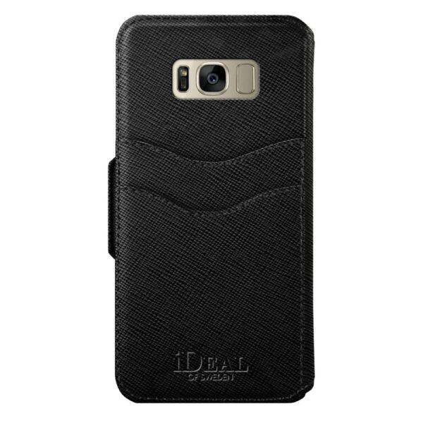 Etui - Samsung Galaxy S8 - Black - Fashion Wallet