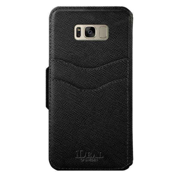 Etui - Samsung Galaxy S8 Plus - Black - Fashion Wallet