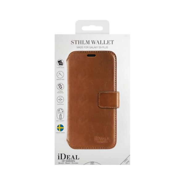 Etui - Samsung Galaxy S9 Plus - Brown - Wallet