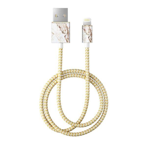 Kabel - Lightning to USB (1,00m) - Carrara Gold