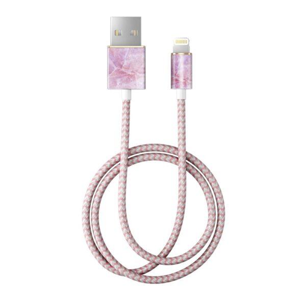 Kabel - Lightning to USB (1,00m) - Pilion Pink Marble