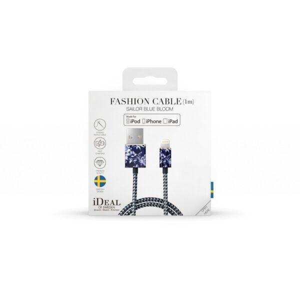 Kabel - Lightning to USB (1,00m) - Sailor Blue Bloom