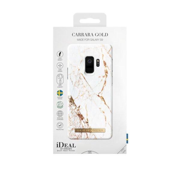 Maskica - Galaxy S9 - Carrara Gold - Fashion Case