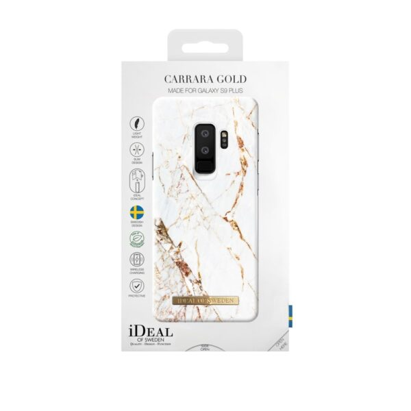Maskica - Galaxy S9+ - Carrara Gold - Fashion Case