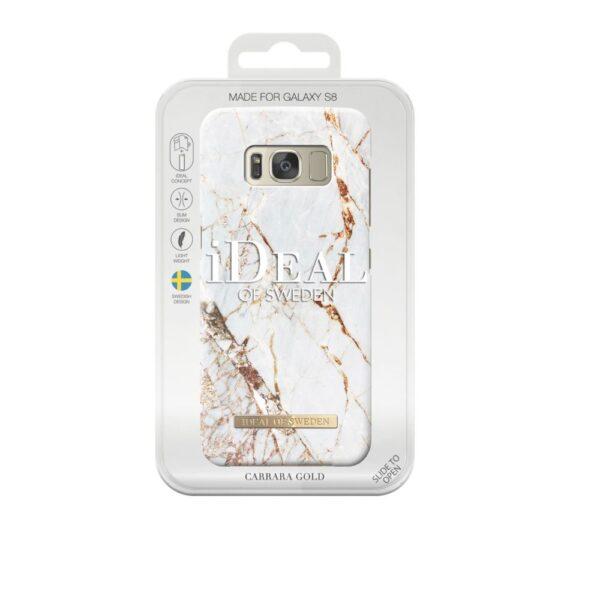 Maskica - Samsung Galaxy S8 - Carrara Gold - Fashion Case