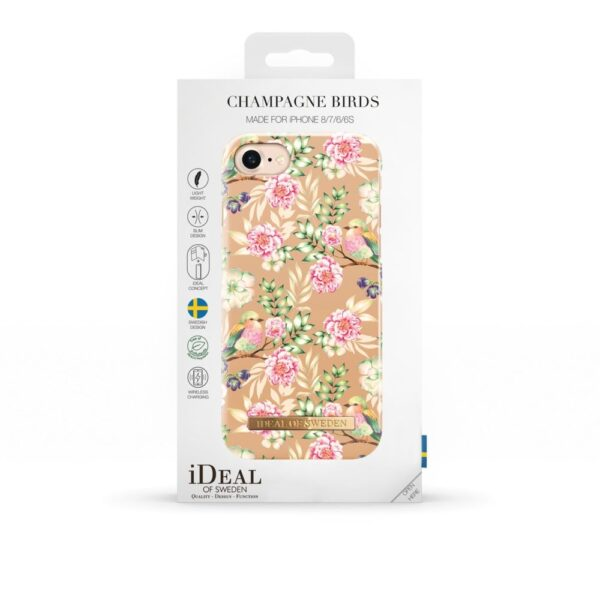 Maskica - iPhone 8/7/6/6S - Champagne Birds - Fashion Case