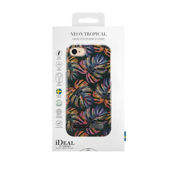 Maskica - iPhone 8/7/6/6S - Neon Tropical - Fashion Case