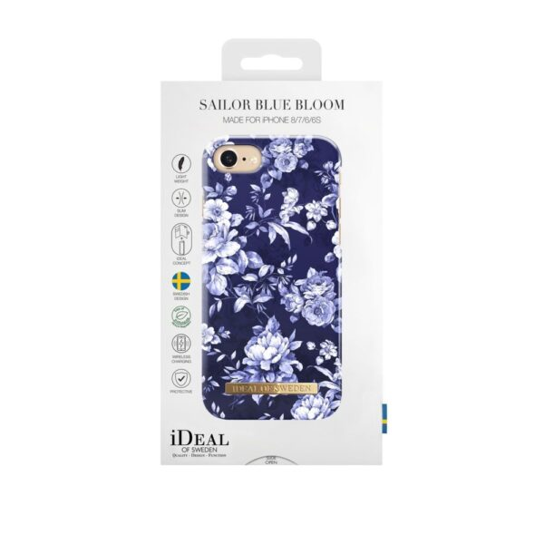 Maskica - iPhone 8/7/6/6S - Sailor Blue Bloom - Fashion Case