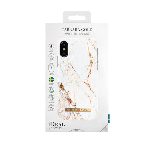 Maskica - iPhone X - Carrara Gold - Fashion Case