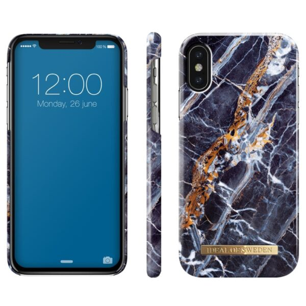 Maskica - iPhone X - Midnight Blue Marble - Fashion Case