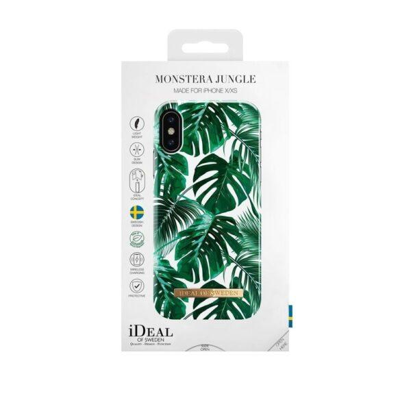 Maskica - iPhone X - Monstera Jungle - Fashion Case