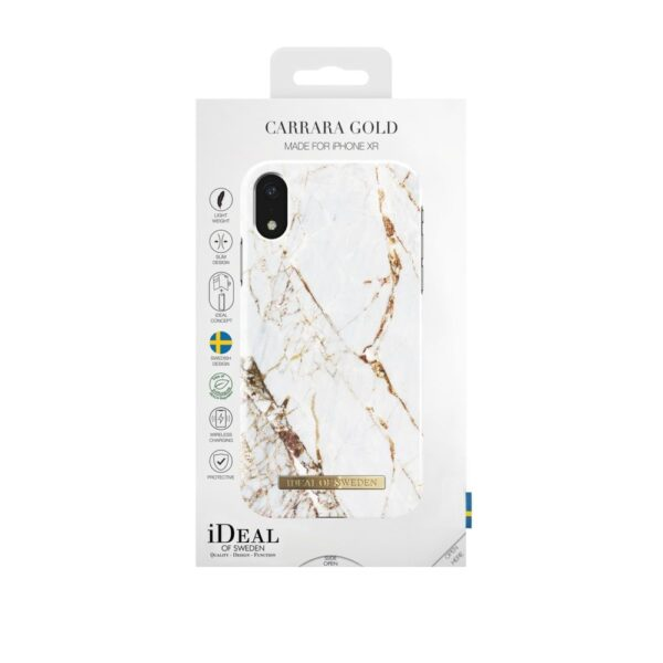 Maskica - iPhone Xr - Carrara Gold - Fashion Case