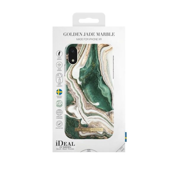 Maskica - iPhone Xr - Golden Jade Marble - Fashion Case
