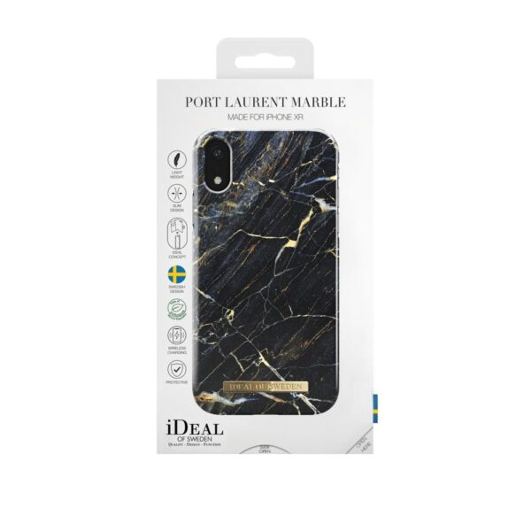 Maskica - iPhone Xr - Port Laurent Marble - Fashion Case