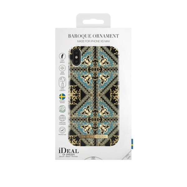 Maskica - iPhone Xs Max - Baroque Ornament - Fashion Case