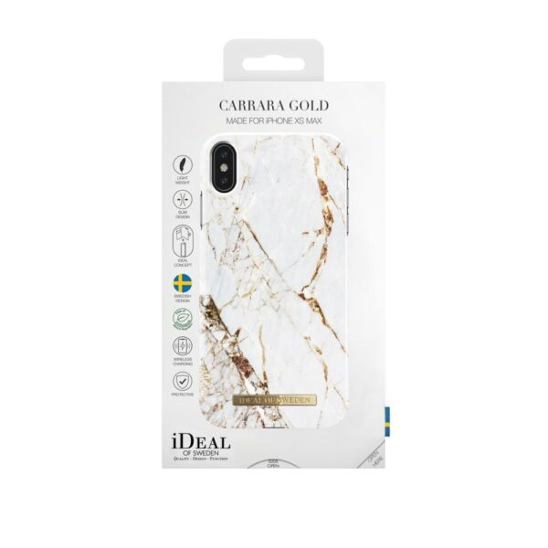 Maskica - iPhone Xs Max - Carrara Gold - Fashion Case