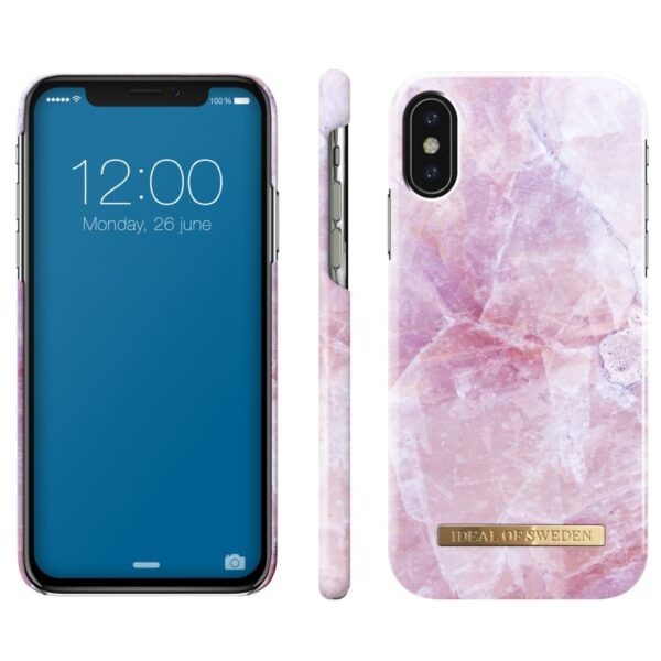 Maskica - iPhone Xs Max - Pilion Pink Marble - Fashion Case