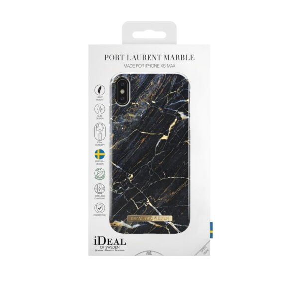 Maskica - iPhone Xs Max - Port Laurent Marble - Fashion Case