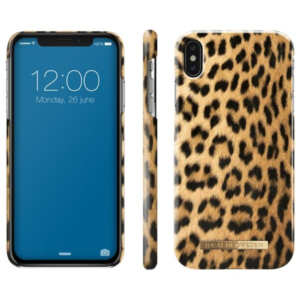 Maskica - iPhone Xs Max - Wild Leopard - Fashion Case