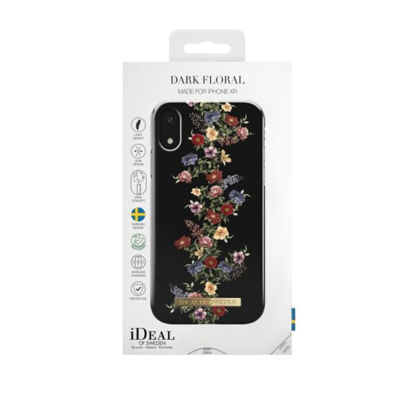 Maskica - iPhone Xs/X - Dark Floral - Fashion Case