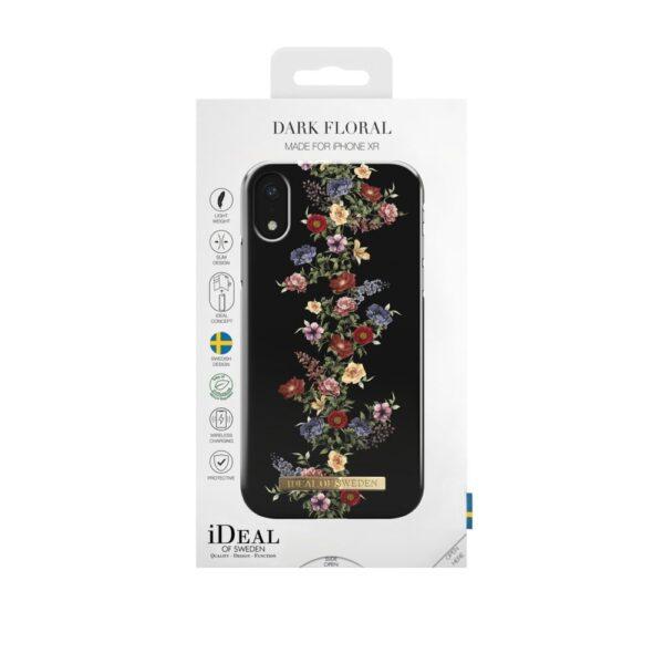Maskica - iPhone Xs/X - Dark Floral - Fashion Case
