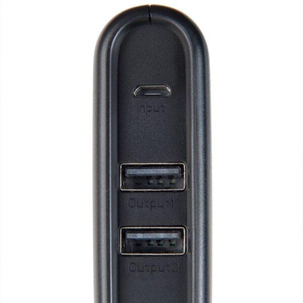 Prijenosni punjač - 20.000 mAh - Uni 2xUSB - +MicroUSB cable