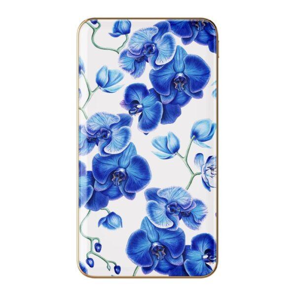 Prijenosni punjač - 5.000 mAh - Uni 1xUSB - Baby Blue Orchid - +MicroUSB cable