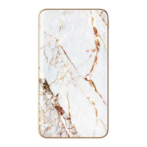 Prijenosni punjač - 5.000 mAh - Uni 1xUSB - Carrara Gold - +MicroUSB cable