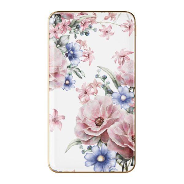 Prijenosni punjač - 5.000 mAh - Uni 1xUSB - Floral Romance - +MicroUSB cable