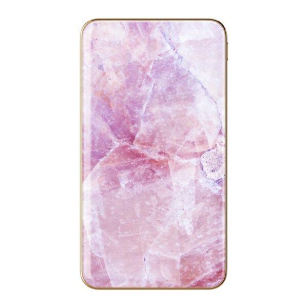 Prijenosni punjač - 5.000 mAh - Uni 1xUSB - Pilion Pink Marble - +MicroUSB cable