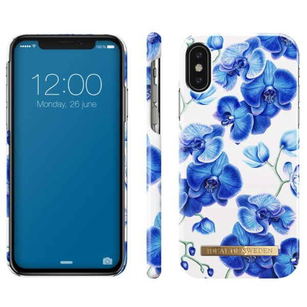 Maskica - iPhone X - Baby Blue Orchid - Fashion Case