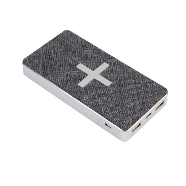 Bežični i prijenosni punjač - 8.000 mAh - Wireless (Qi) & 2xUSB & 1xUSB-C - +USB-C cable