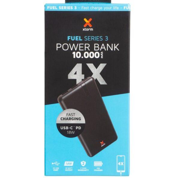 Prijenosni punjač - 10.000 mAh - Core - Black