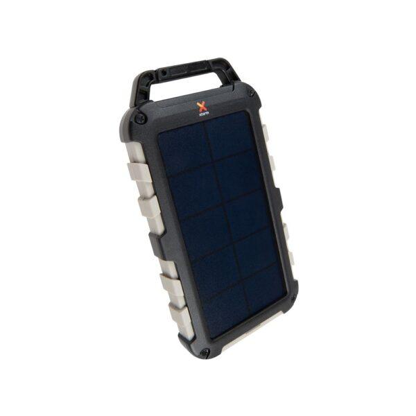 Prijenosni punjac - 10.000 mAh - Solar Bank - Robust - Black