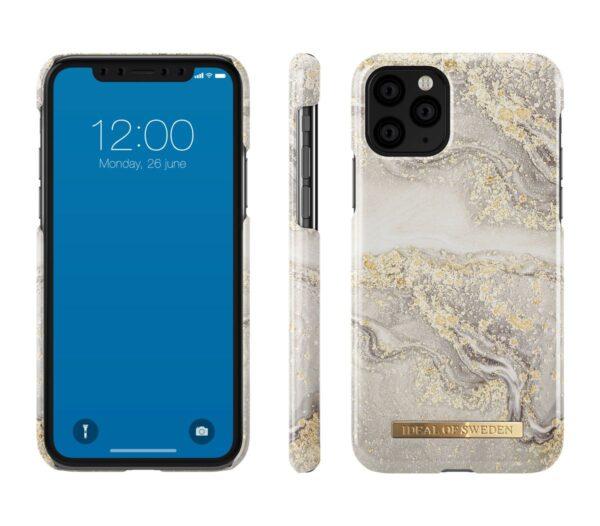 Maskica - iPhone 11 ProXsX - Sparkle Greige Marble - Fashion Case