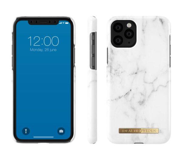 Maskica - iPhone 11 ProXsX - White Marble - Fashion Case