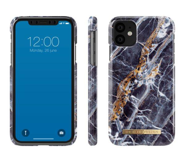 Maskica - iPhone 11Xr - Midnight Blue Marble - Fashion Case