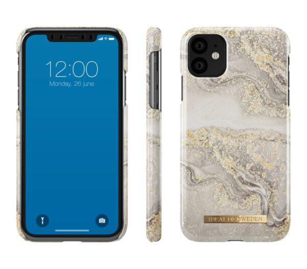 Maskica - iPhone 11Xr Sparkle Greige Marble - Fashion Case
