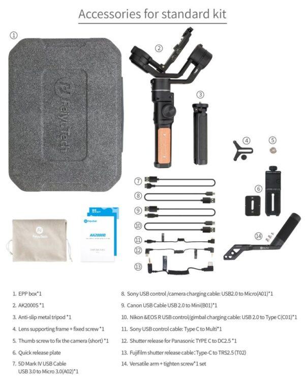 AK2000S Standard kit_1
